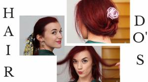 5 Easy To Dress-Up or Down Hairdo's For Medium to Long Hair