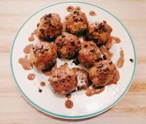 Healthy Choc Chip Cookie Dough Balls