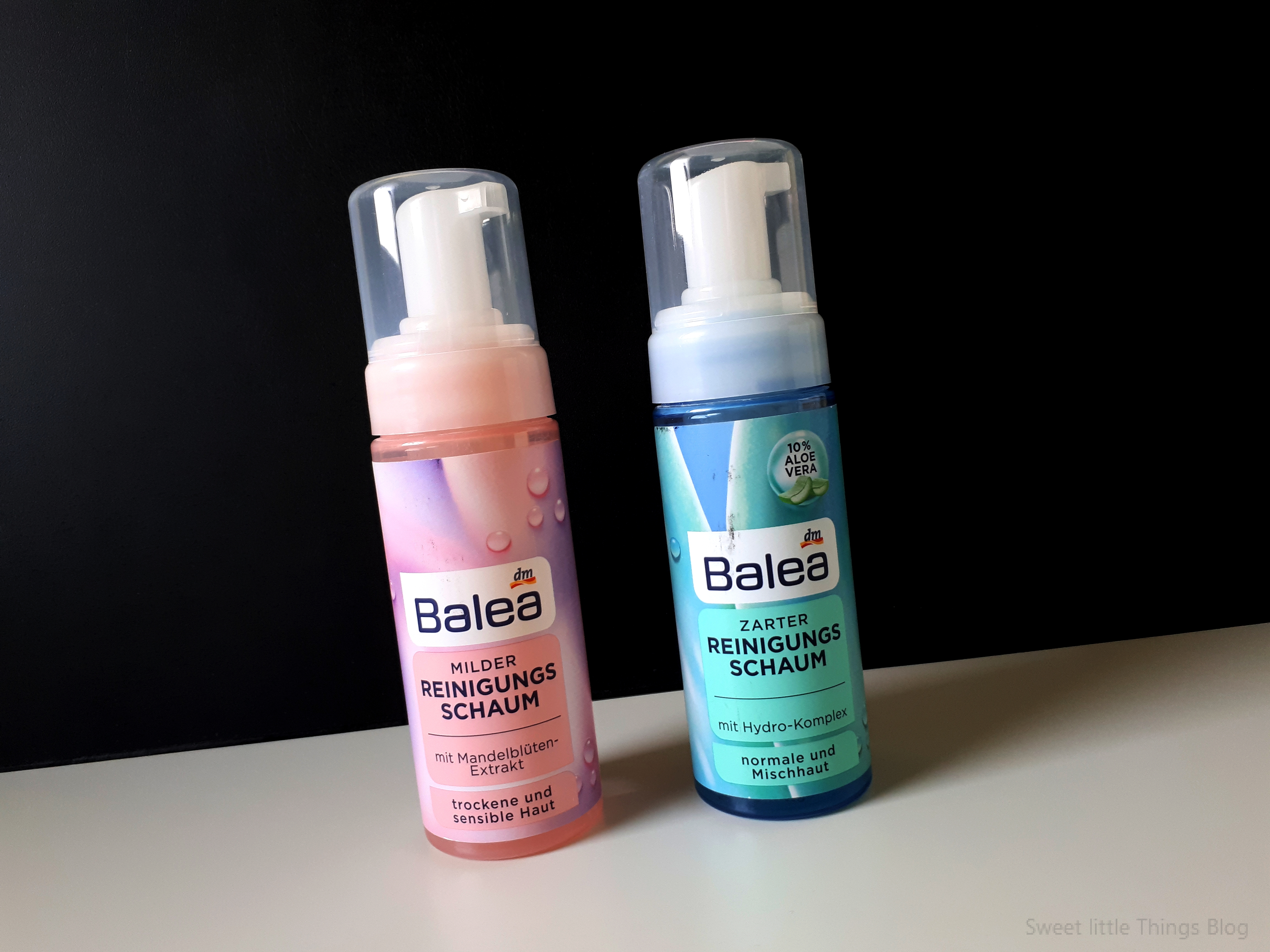 Balea Pink VS Blue face cleansing foam- REVIEW