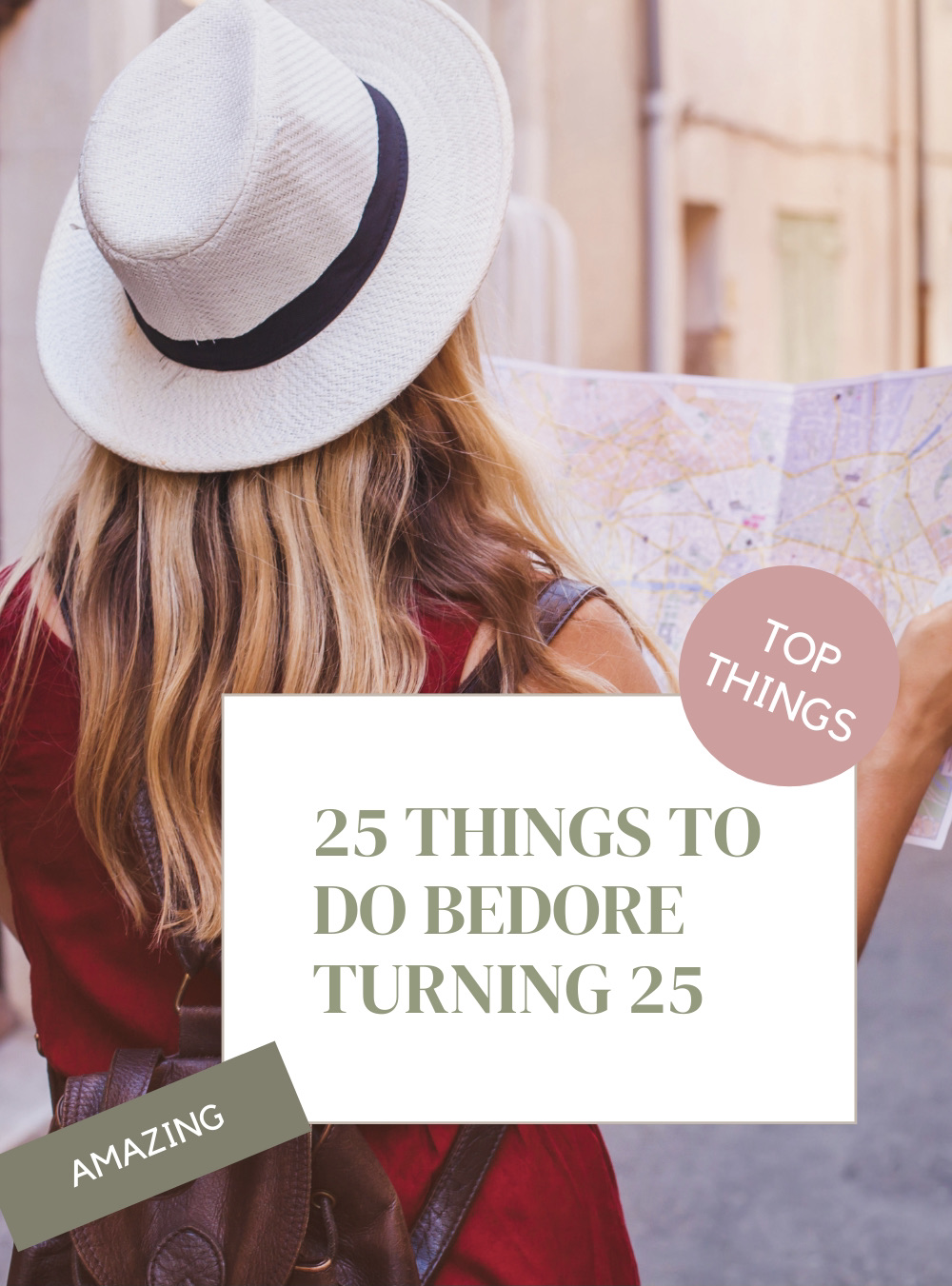 25 Things to Do Before Turning 25