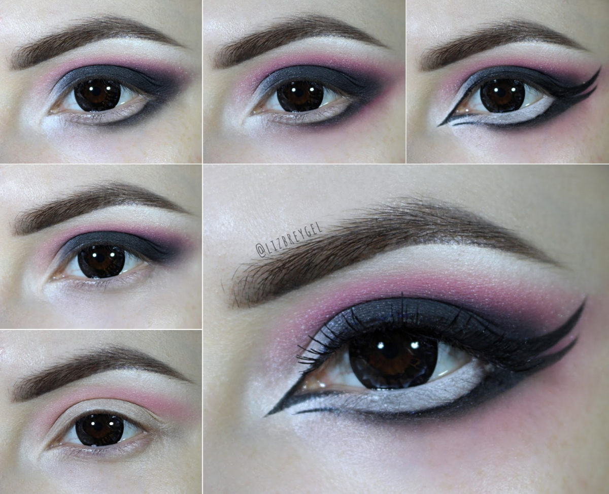 step by step Gothic Lolita makeup tutorial with pictures