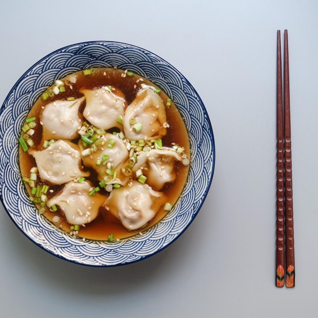 vegetarian wonton soup recipe